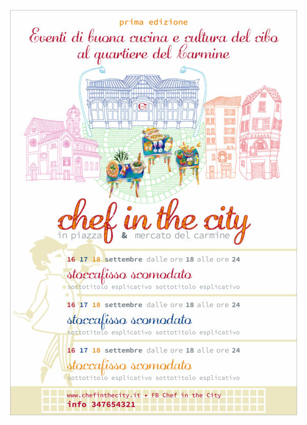 chef in the city